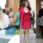Lindsay Lohan, Kelly Brook et la chanteuse Lady Gaga qui a customisé son Birkin.