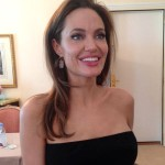 Angelina Jolie en coulisses #NoFilter
