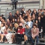 Le front-row chez Chanel