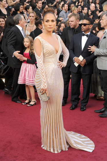 84th Annual Academy Awards - jennifer lopez in  a zuhair murad's gown
