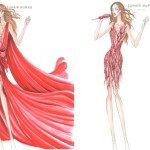 Jennifer Lopez en Zuhair Murad lors de son 'Dance Again' world tour (2)