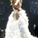 Jennifer Lopez en Zuhair Murad lors de son 'Dance Again' world tour (6)