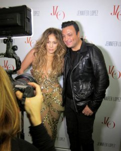ZUHAIR MURAD WITH JENNIFER LOPEZ BACKSTAGE AFTER HER CONCERT IN ISTANBUL