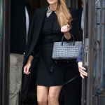 Celine Dion en look Yves Saint Laurent