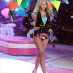 ELSA HOSK at Victoria's Secret Fashion Show