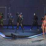 Les Black Eyed Peas lors du Victoria's Secret Fashion show 2009