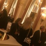 Carine Roitfeld au Ritz pour le dîner Louis Vuitton durant la Paris Fashion Week