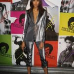 Cindy Bruna à la #CR1999 party durant la fashion week PAP printemps-été 2018 à Paris