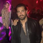 Doutzen Kroes et Jesse Metcalfe à la #CR1999 party durant la fashion week PAP printemps-été 2018 à Paris