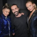 Fergie Giambattista Valli et Natasha Poly à la #CR1999 party durant la fashion week PAP printemps-été 2018 à Paris