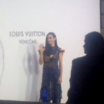 Jennifer Connelly Jaden Smith au photocall Louis Vuitton place Vendôme à Paris