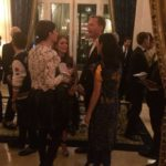 Jennifer Connelly, Paul Bettany et Julianne Moore au dîner Louis Vuitton au Ritz durant la #PFW