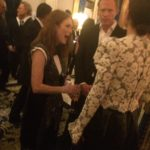 Julianne Moore et Paul Bettany au dîner Louis Vuitton au Ritz durant la #PFW