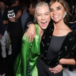 Karlie Kloss et Carine Roitfeld à la #CR1999 party durant la fashion week PAP printemps-été 2018 à Paris