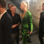 Karlie Kloss à la #CR1999 party durant la fashion week PAP printemps-été 2018 à Paris