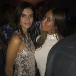 La VS ANGEL Sara Sampaio et le mannequin Sabreena à la #CR1999 party durant la fashion week PAP printemps-été 2018 à Paris