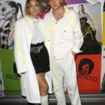 Le mannequin homme qui monte Jordan Barrett à la #CR1999 party durant la fashion week PAP printemps-été 2018 à Paris