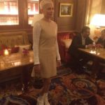 Michelle Williams au dîner Louis Vuitton au Ritz durant la #PFW