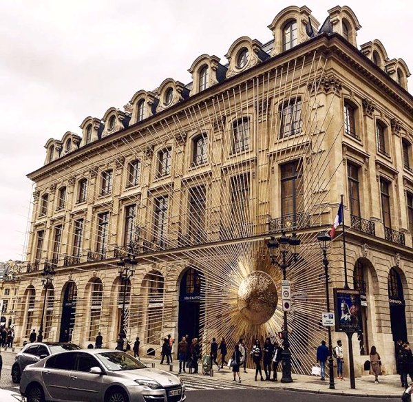 Nouvelle boutique Louis Vuitton située Place Vendôme à Paris