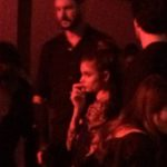 Taylor Hill pensive à la #CR1999 party durant la fashion week PAP printemps-été 2018 à Paris