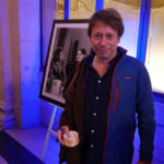 Mathieu Amalric lors du vernissage « Barbara, du bout des lèvres » au Palais Brongniart à Paris - Photo GUYSANDPEOPLE