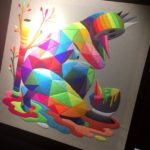 Okuda - Mother's mirage - Urban Art Fair - crédit photo GuysAndPeople