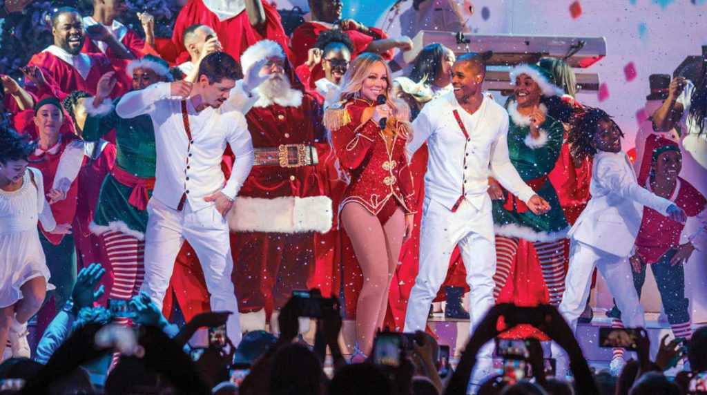 Mariah Carey - All I Want For Christmas Is You Tour - AccorHotels Arena, Paris - GuysAndPeople (5)